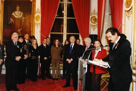2005 Chevalier de la Légion d'Honneur